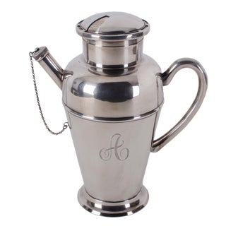 Mid-Century Eugen Ferner Recipe Cocktail Shaker