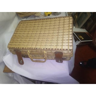 Small Wicker Luggage Preview