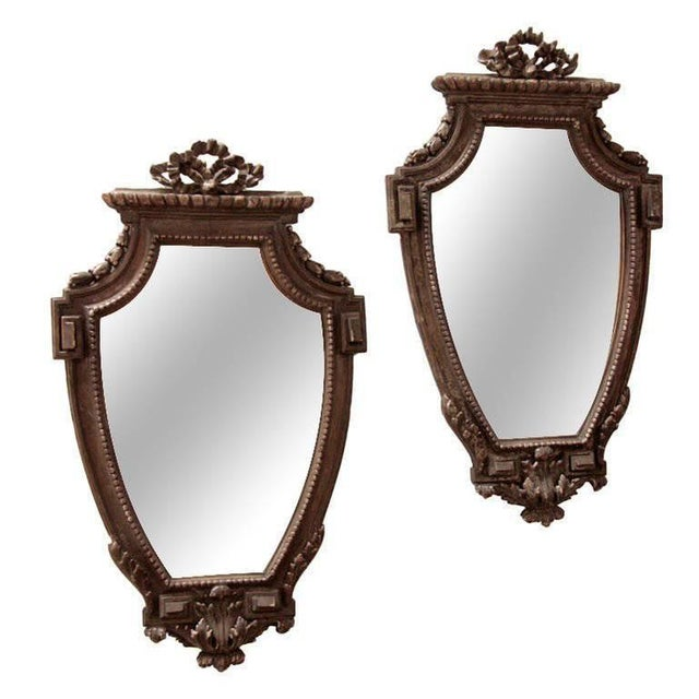 Pair of Italian 19th Century Mirrors For Sale - Image 10 of 10