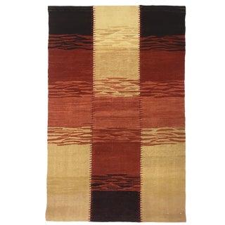 Sunset Rug & Relic Patchwork Yeni Kilim | 2 X 3 Flatweave Rug For Sale