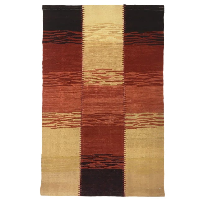 Sunset Rug & Relic Patchwork Yeni Kilim | 2 X 3 Flatweave Rug For Sale