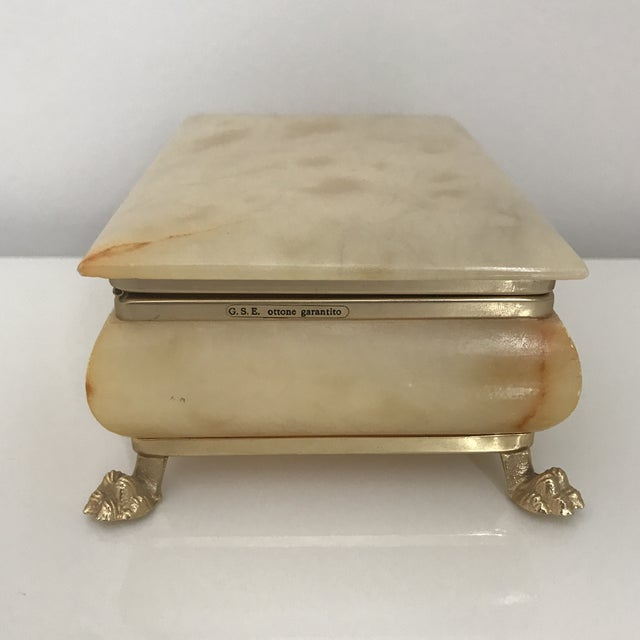 Vintage Italian Onyx Box For Sale - Image 4 of 6