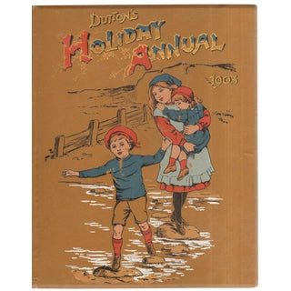 "1903 ""Dutton's Holiday Annual for 1903"" Coffee Table Book For Sale"