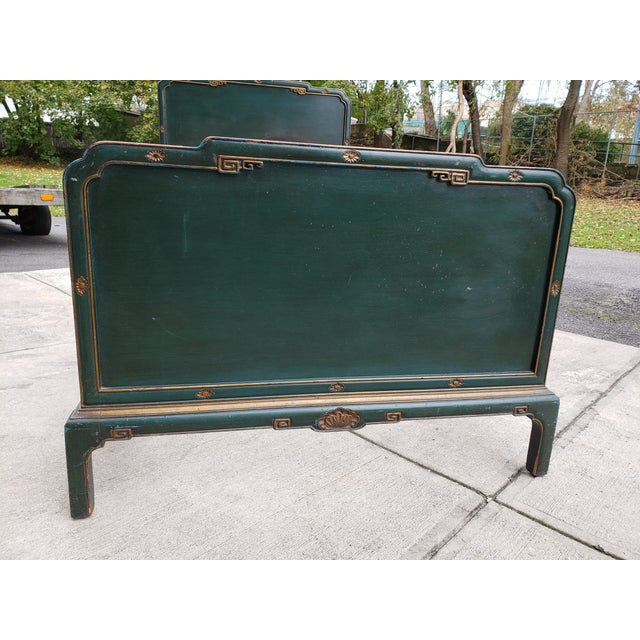 Antique Chinoiserie Twin Bed For Sale - Image 12 of 13