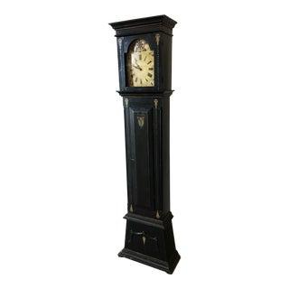 19th Century Danish Empire Long Case Clock
