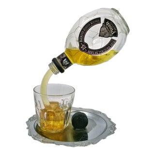 Pop Art Sculpture of Pinch Liquor Bottle Pouring a Drink Designed by Geoffrey Rose For Sale