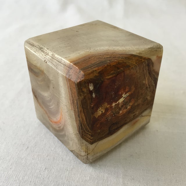 Vintage Agate Cube - Image 2 of 4
