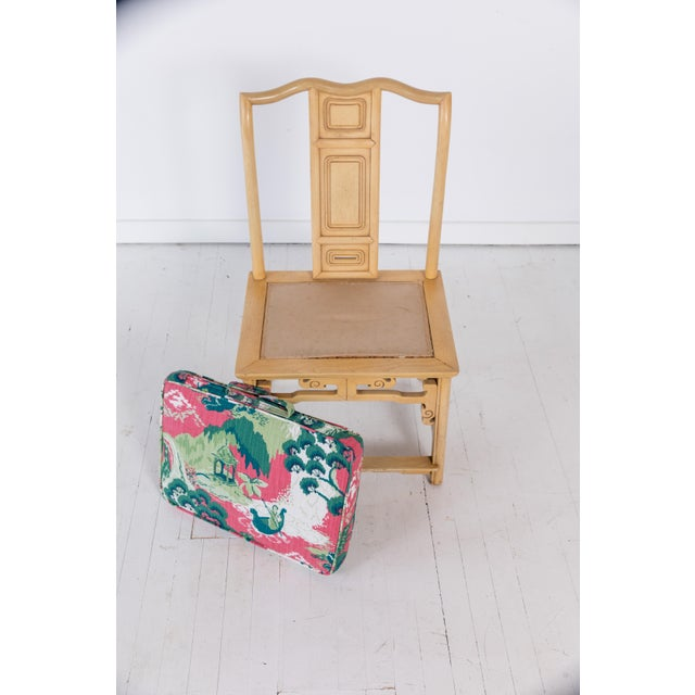 Awesome 1960S Vintage Baker Furniture Yellow Chinoiserie Chair Theyellowbook Wood Chair Design Ideas Theyellowbookinfo