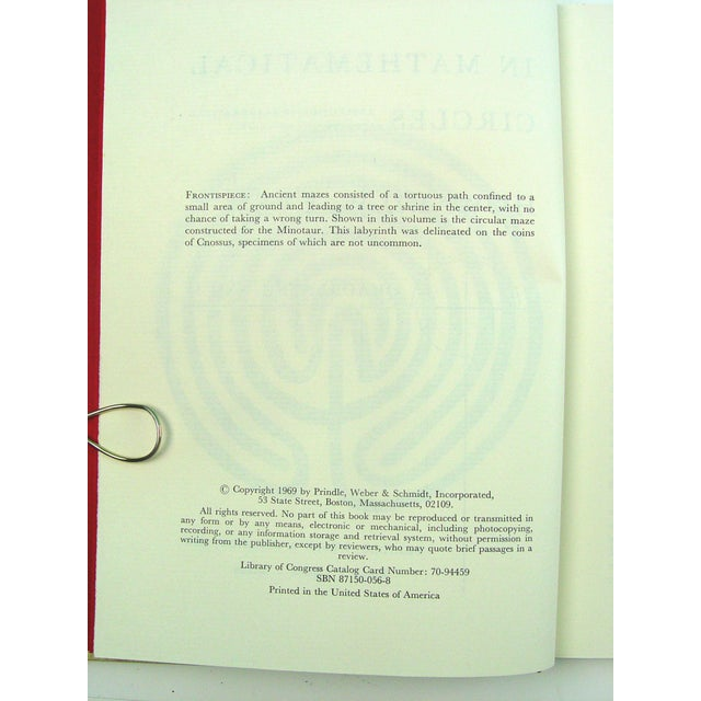 In Mathematical Circles Book by Howard Eves - Image 5 of 6