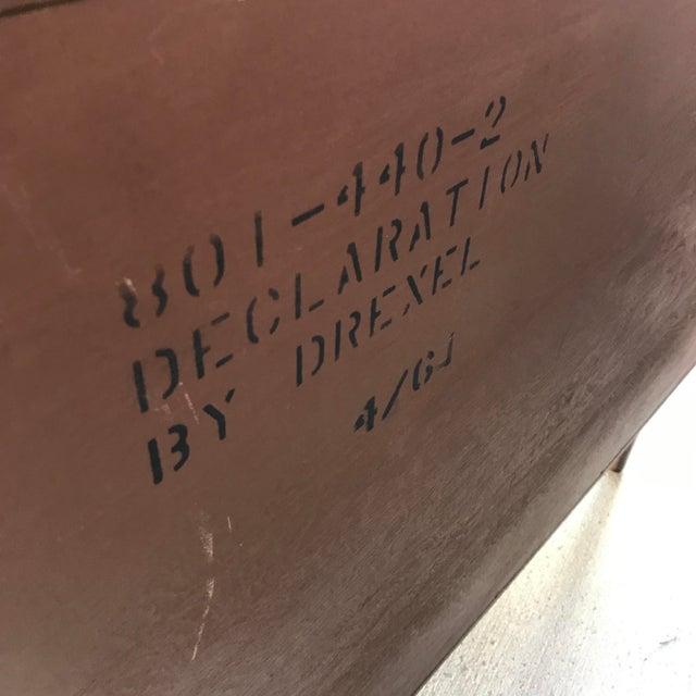 Vintage Mid-Century Modern Drexel Declaration Walnut 3-Drawer Dresser by Kipp Stewart For Sale - Image 9 of 9