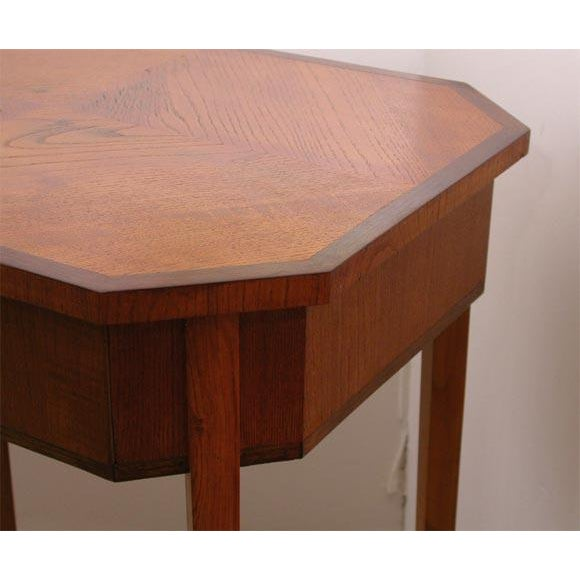 Walnut Swedish Occasional Table For Sale - Image 7 of 7