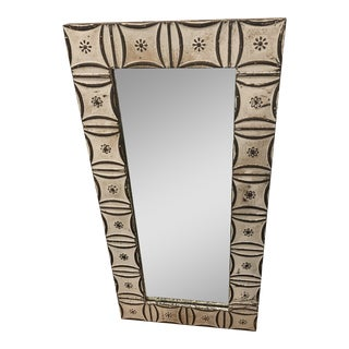 Reclaimed Copper Mirror For Sale