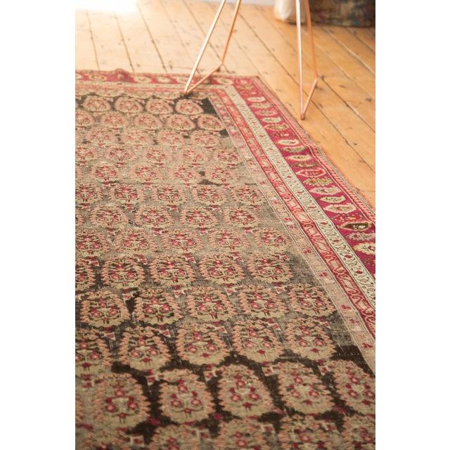 """Antique Karabagh Carpet - 5'2"""" x 9'4"""" For Sale - Image 10 of 11"""