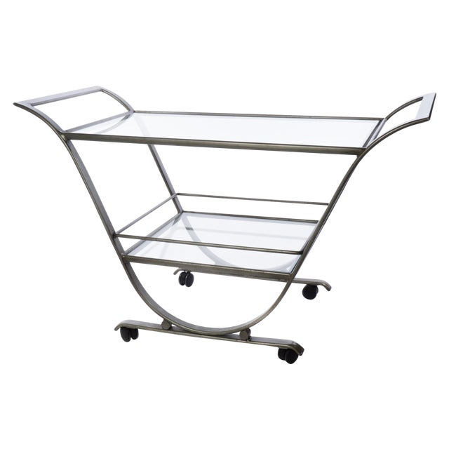 Mid-Century Serving Cart - Image 1 of 3