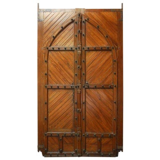18th Century Moorish Castle Gatehouse Doors from Spain For Sale