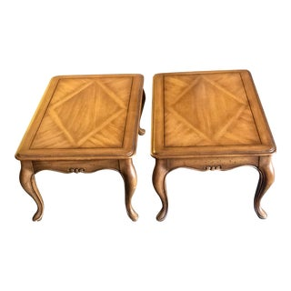 Weiman Pecan Side Tables - a Pair For Sale