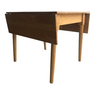 Amish Made Maple Drop Leaf Table For Sale