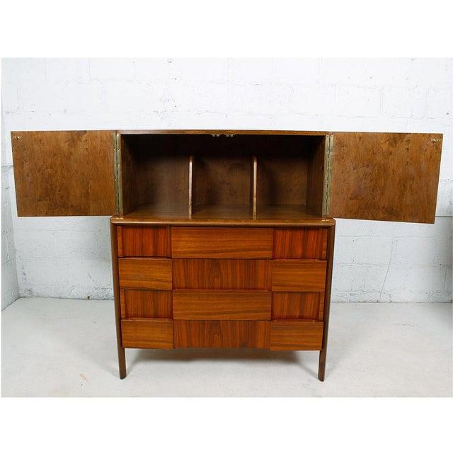 Edmund Spence Swedish Modern Walnut Dresser by Edmund Spence For Sale - Image 4 of 10