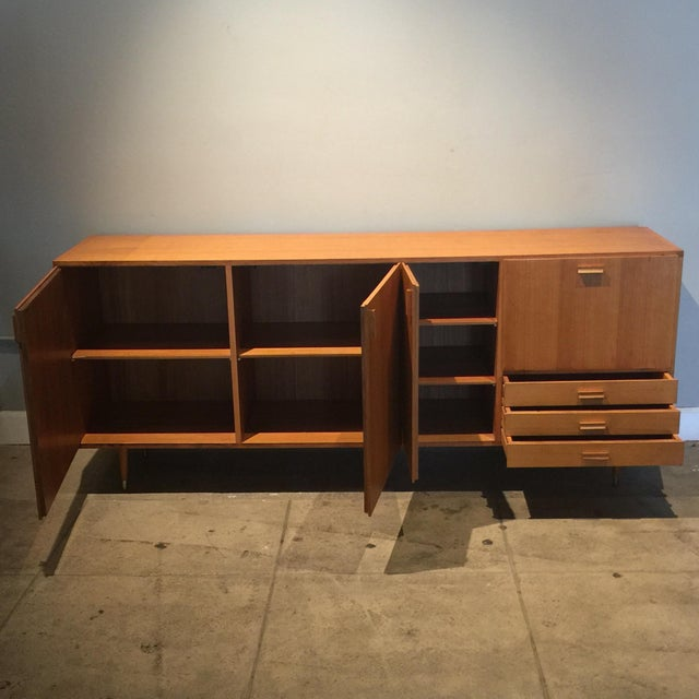 1950s 1950s Custom Made Midcentury Ash Sideboard For Sale - Image 5 of 10