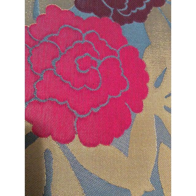 Osborne & Little Pink & Purple Peonies Fabric- 2 Yards - Image 3 of 5