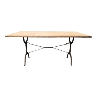 1930 French Oak Bistro Table