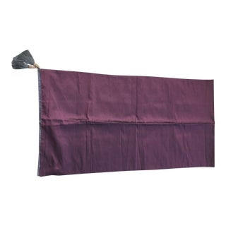 Purple & Wine Color Silk Table Runner For Sale