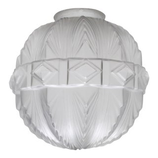 1920s Art Deco Ceiling Globe For Sale