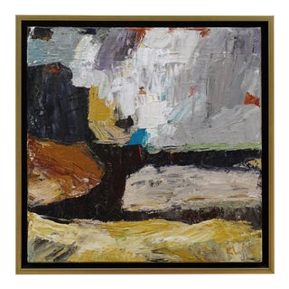 "Laurie MacMillan ""Going for the Gold"" Abstract Landscape Painting For Sale"
