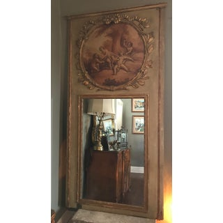Antique Regency Style Trumeau Mirror Preview