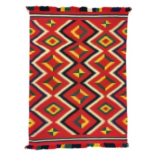 Navajo Germantown Blanket, circa 1890