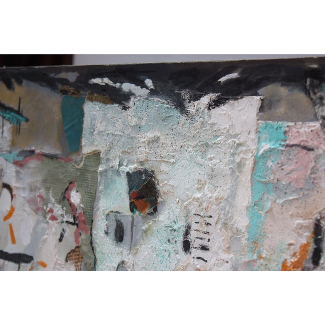 Ralph De Burgos Mixed-Media Abstract Collage For Sale In New York - Image 6 of 12