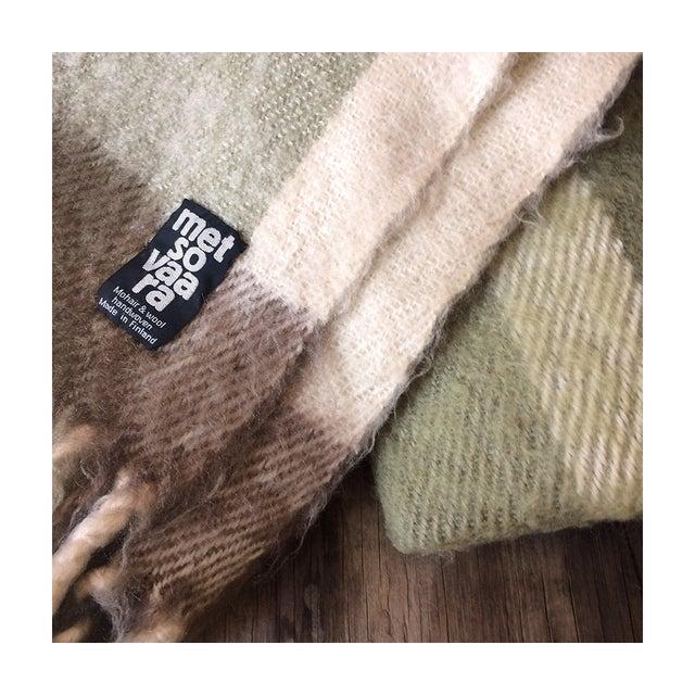 Metsovaara Scandinavia Wool Mohair Blanket For Sale - Image 4 of 6