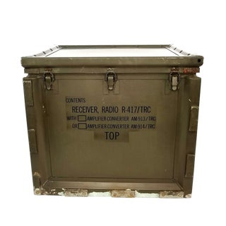 Us Army Signal Corps Radio Receiver Storage Case For Sale