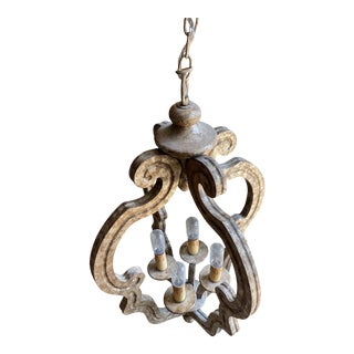 2000's Contemporary Bronze Chandelier For Sale
