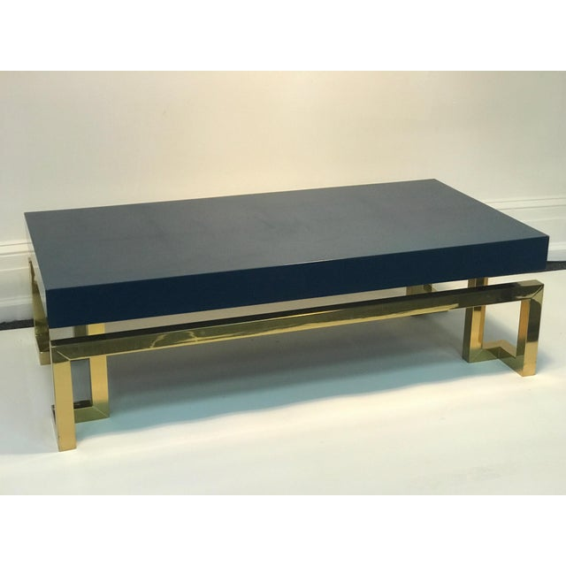 Exceptional Italian Coffee Table with Greek Key Design For Sale In Philadelphia - Image 6 of 10