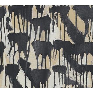 Cloud Drip Black Large Wallpaper For Sale
