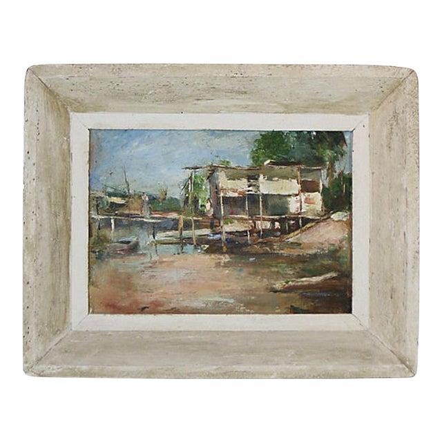 Florida Coastal Scene Oil Painting For Sale