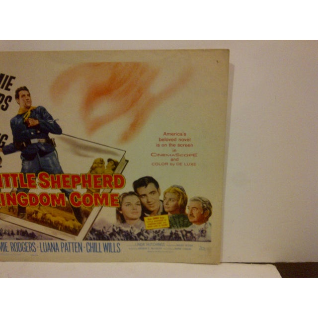 "Vintage Movie Poster ""The Little Shepherd of Kingdom Come"" For Sale - Image 4 of 5"