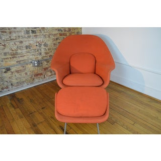 Original Eero Saarinen for Knoll Womb Chair & Ottoman Preview
