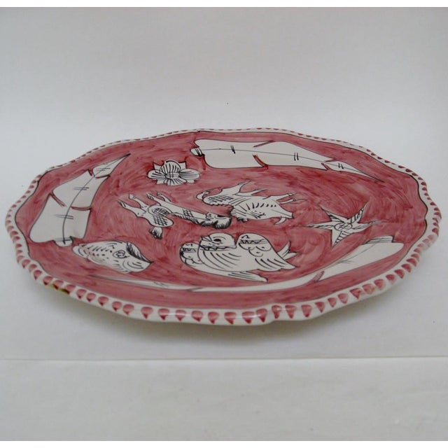 Italian Vintage Italian Serving Plate For Sale - Image 3 of 5