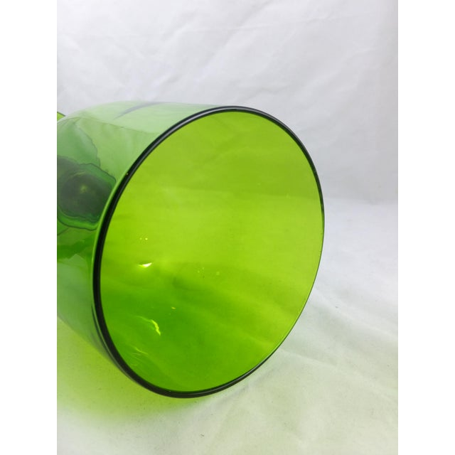 Empoli Italian Art Glass Apothecary Candy Jar - Image 7 of 11