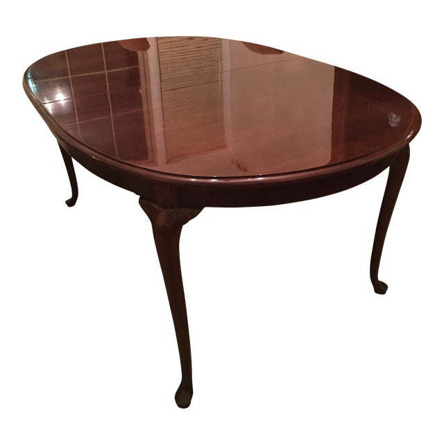 Thomasville Cherry Queen Anne Dining Table
