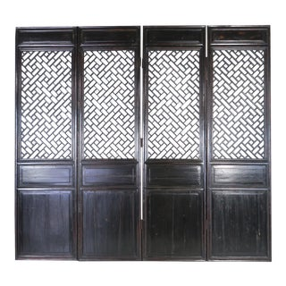 Antique Chinese Doors - Set of 4 For Sale