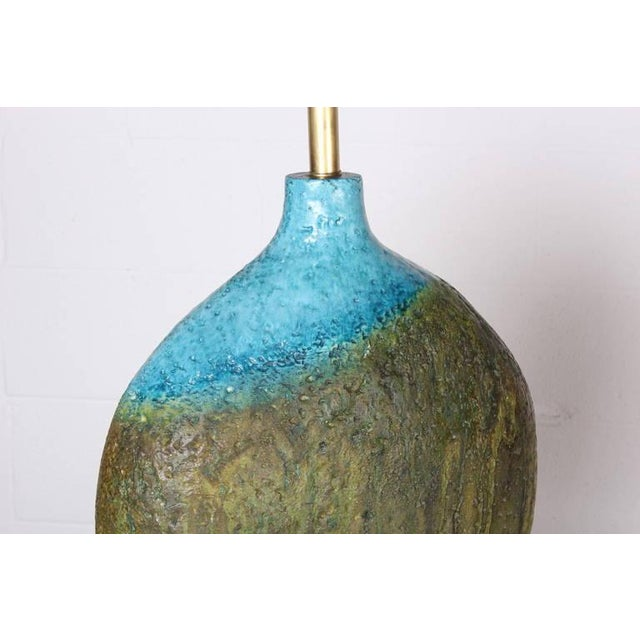 Large Ceramic Lamp by Raymor - Image 7 of 10