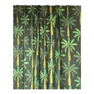Tropical Fabric in Mallard Green, Sample For Sale