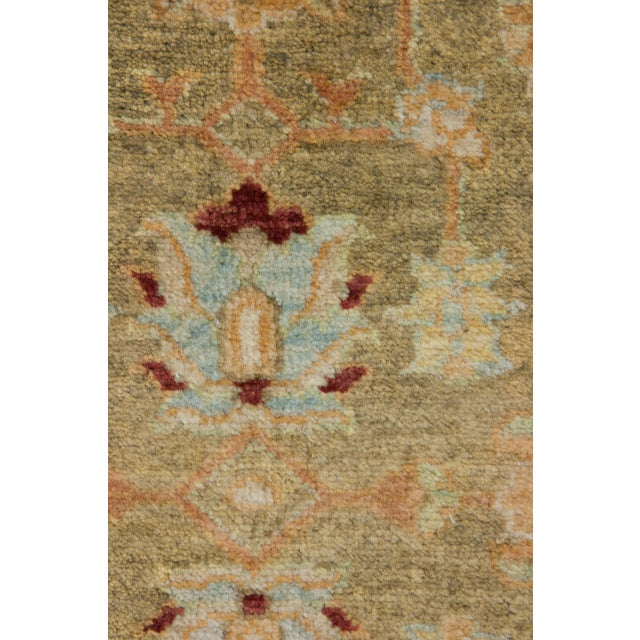 "New Traditional Hand Knotted Area Rug - 4'1"" x 6'3"" - Image 3 of 3"