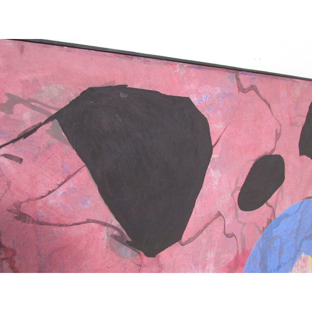 Jeanick Bouys Abstract Modernist Painting by French Artist Jeanick Bouys For Sale - Image 4 of 10