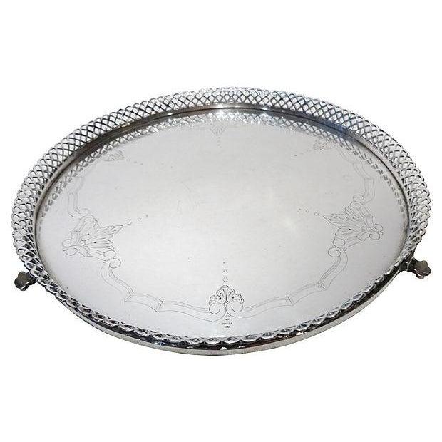 Portuguese Silver Salver - Image 2 of 6