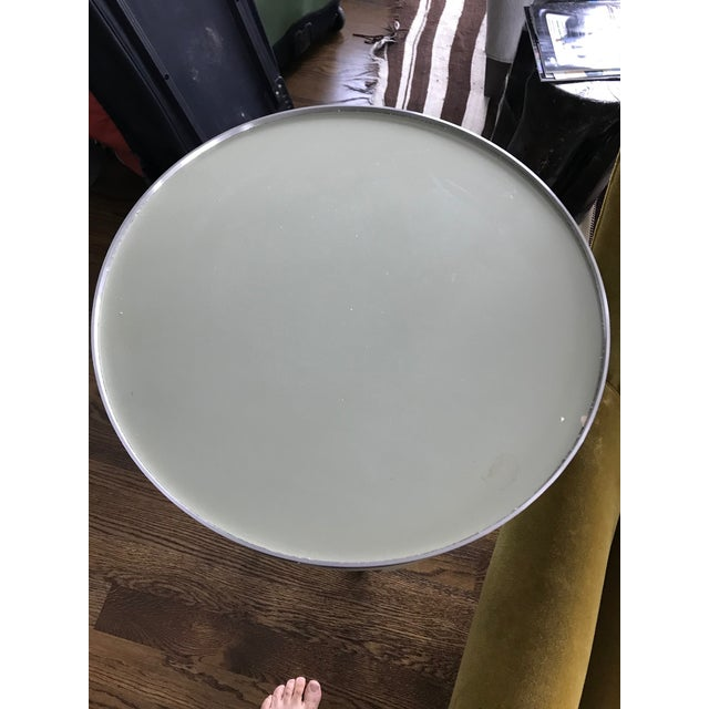 Modern Donghia Green Side Table For Sale - Image 3 of 10
