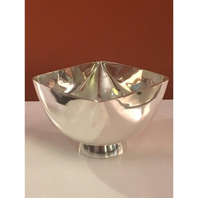 Ward Bennett Ward Bennett Silverplate Bowl For Sale - Image 4 of 12